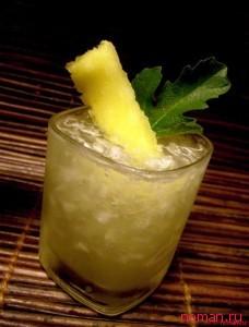 Коктейль из имбиря и ананаса