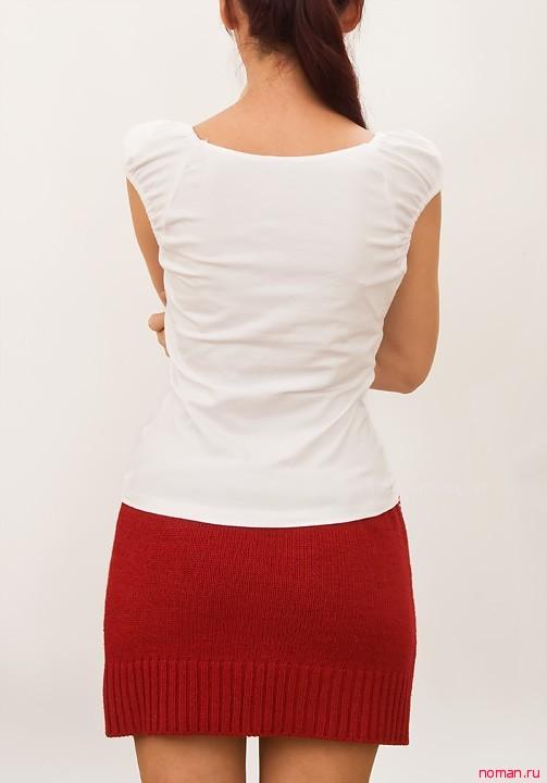 Новая юбка из надоевшего свитера