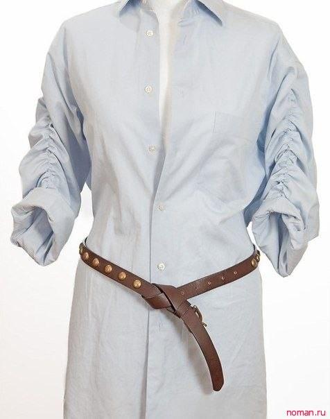 Шьем кардиган из мужской рубашки