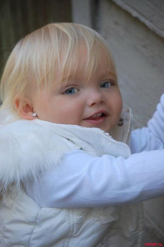 Двухлетняя модель из США Ира Браун