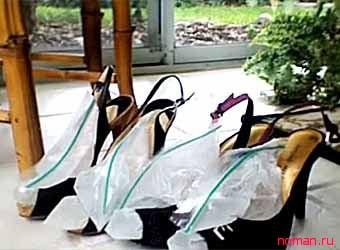 Как быстро разносить новую обувь
