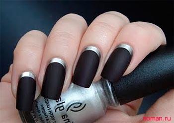 Правильное нанесение матового лака для ногтей
