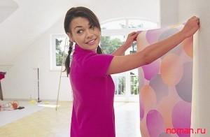 Экономный ремонт женскими руками