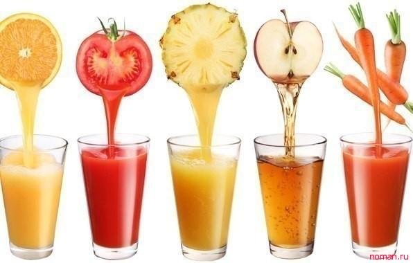 Что полезней соки или фрукты