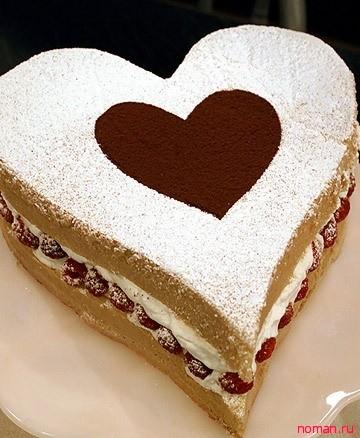 Торт ко дню Святого ВалентинаТорт ко дню Святого Валентина