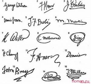 Характер человека по его почерку