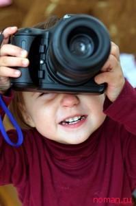 маленький фотограф