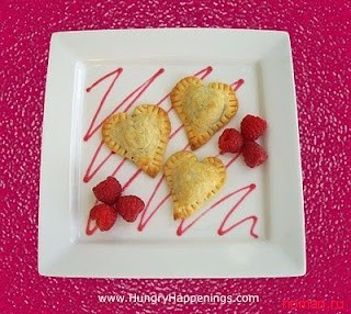 Печенье в виде сердца