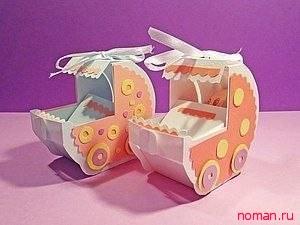 Открытка оригами