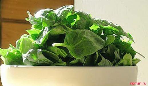 Шпинат – лучшее диетическое растение