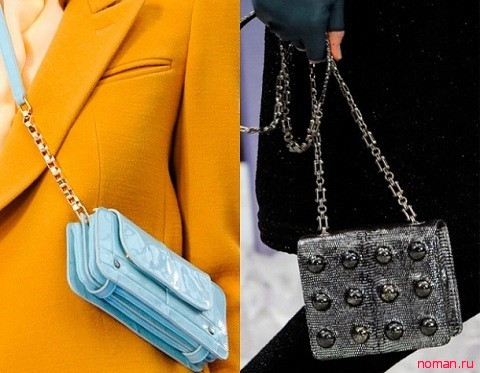 Квадратная сумочка