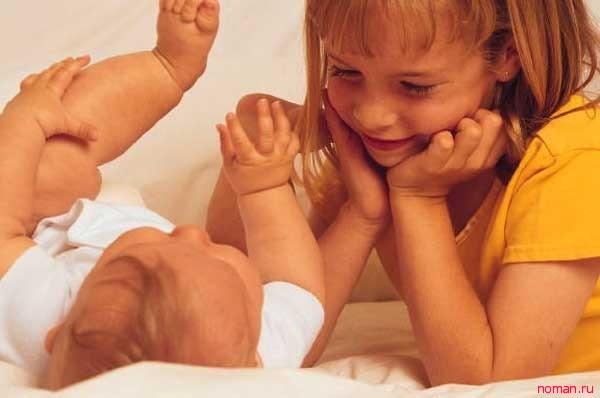 Плюсы и минусы большой разницы в возрасте детей