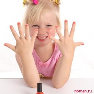 детский маникюр