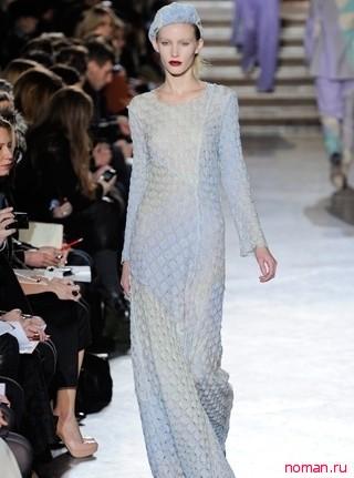 Уютные вязаные платья