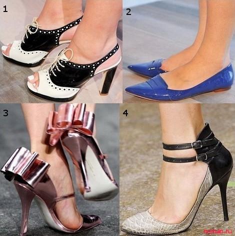 самые модные туфли