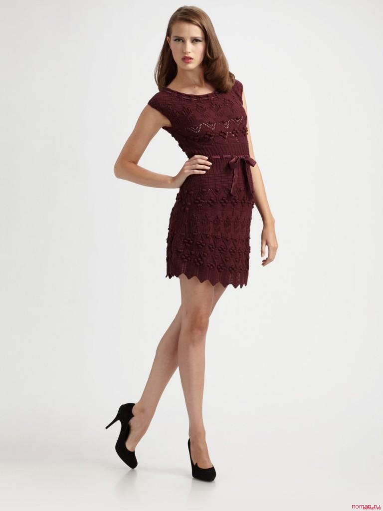 Вязаное платье от Diora