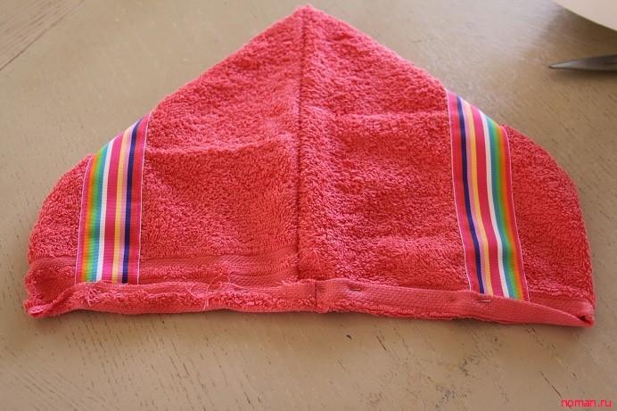 Полотенце с капюшономПолотенце с капюшоном