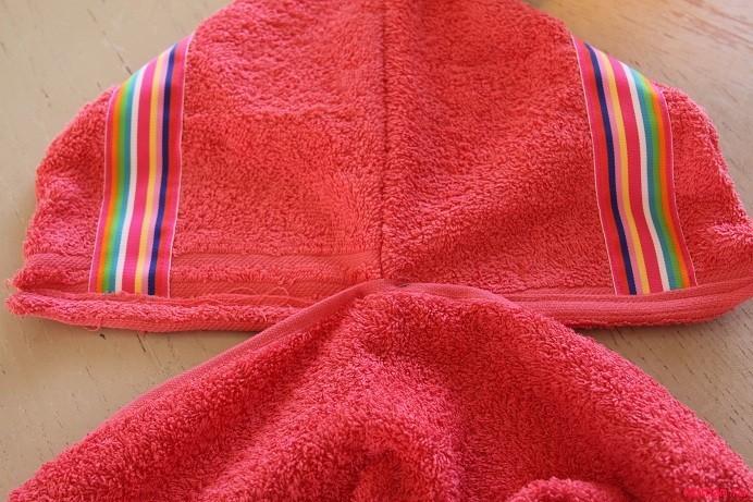 Как сшить детское полотенце-пончо Просто Мама 98