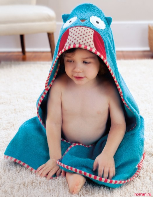 Полотенце с капюшоном