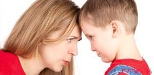 как и зачто ругать ребенка