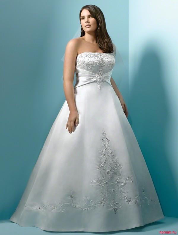 полные невесты