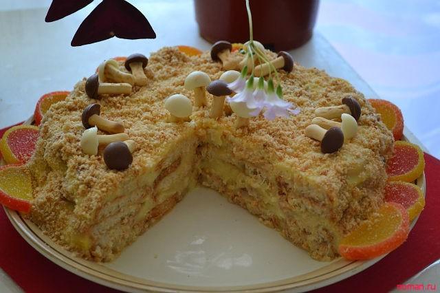 Торт Наполеон для лентяек