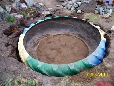 пруд для сада