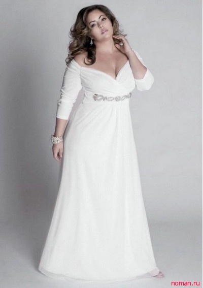 Свадебные платья для полных