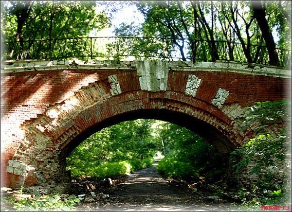 мостик в Нескучном саду