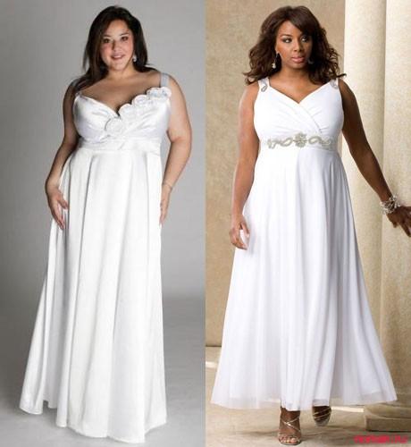 свадебная мода для полных