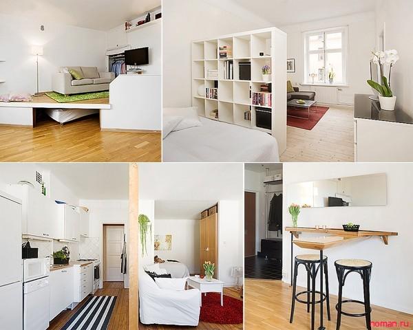 Как визуально расширить маленькую квартиру