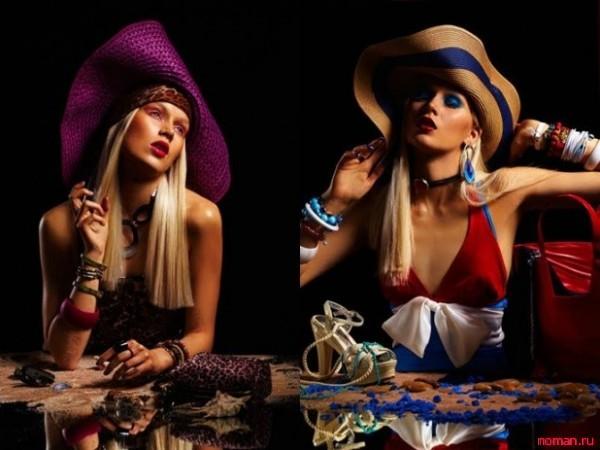 Самые модные головные уборы лета 2013