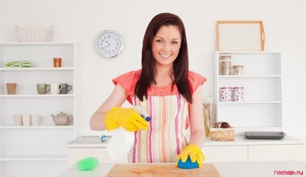 Эффективная уборка без применения бытовой химии