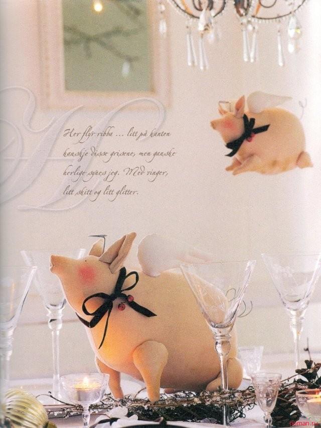 Выкройки Тильда «Свинки»