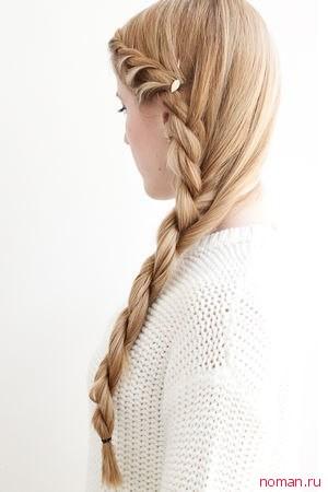 Закрученная коса