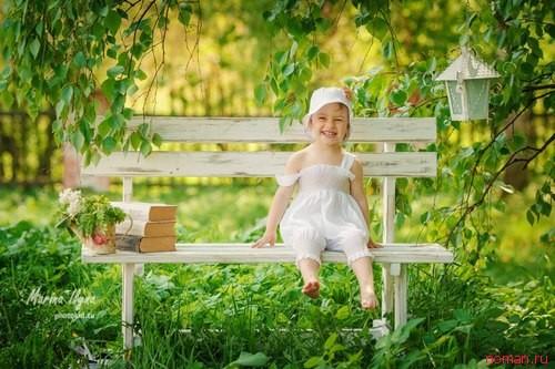 Как развлечь ребенка на даче