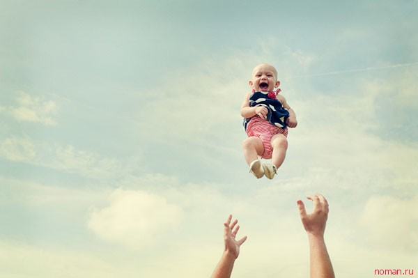 удачное фото малыша