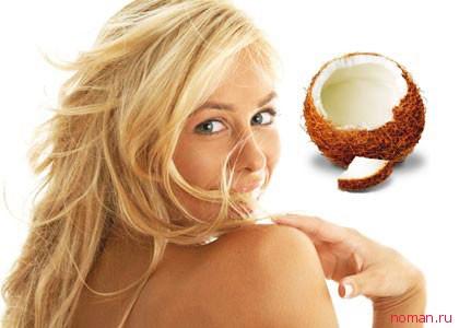 Кокосовая масло-маска для красоты волос