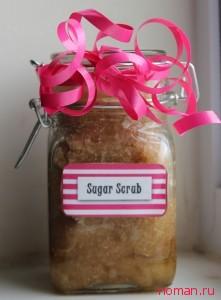 Домашний сахарный скраб для тела