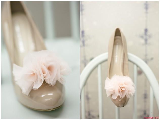 цветок для туфель