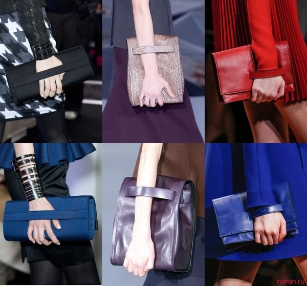 сумочки-клатчі - мода осені 2013