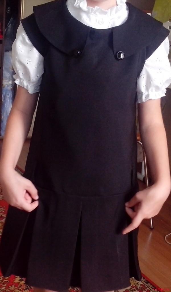 школьная форма - юбка с бантовыми складками