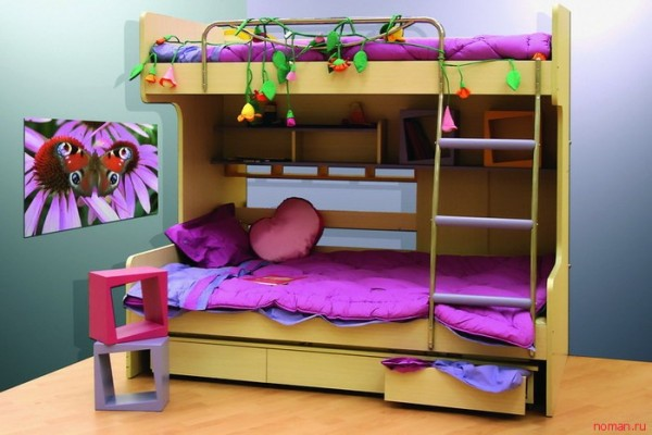 кровать чердак 13