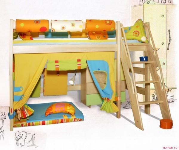 кровать чердак 22