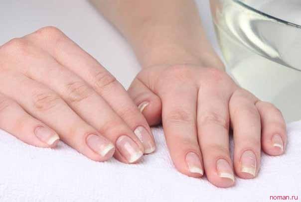 Как восстановить белизну кончиков ногтей
