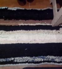 коврик из старья